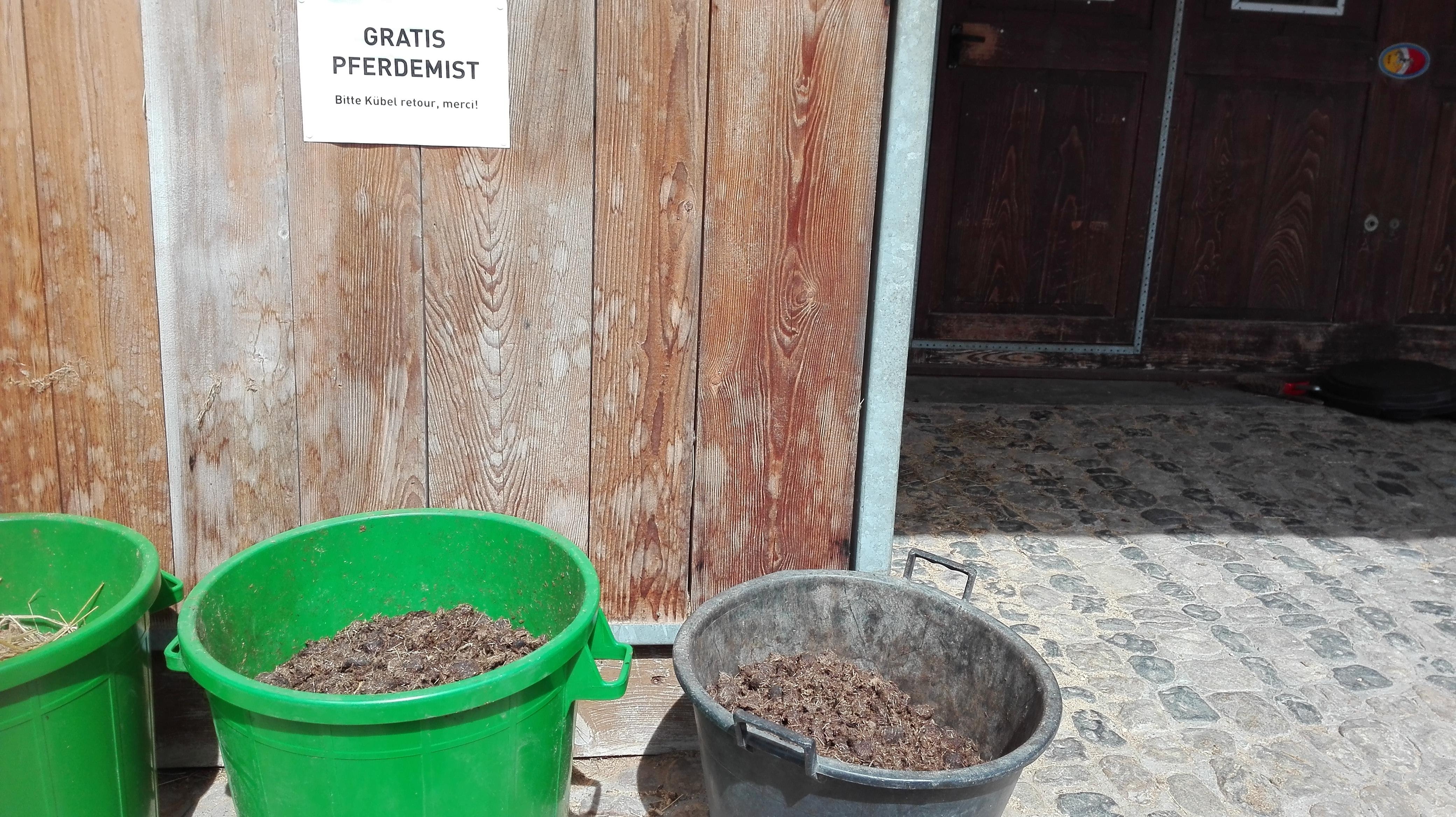 Beliebt Bevorzugt Pferdemist für den Garten - Cutohof @HF_84